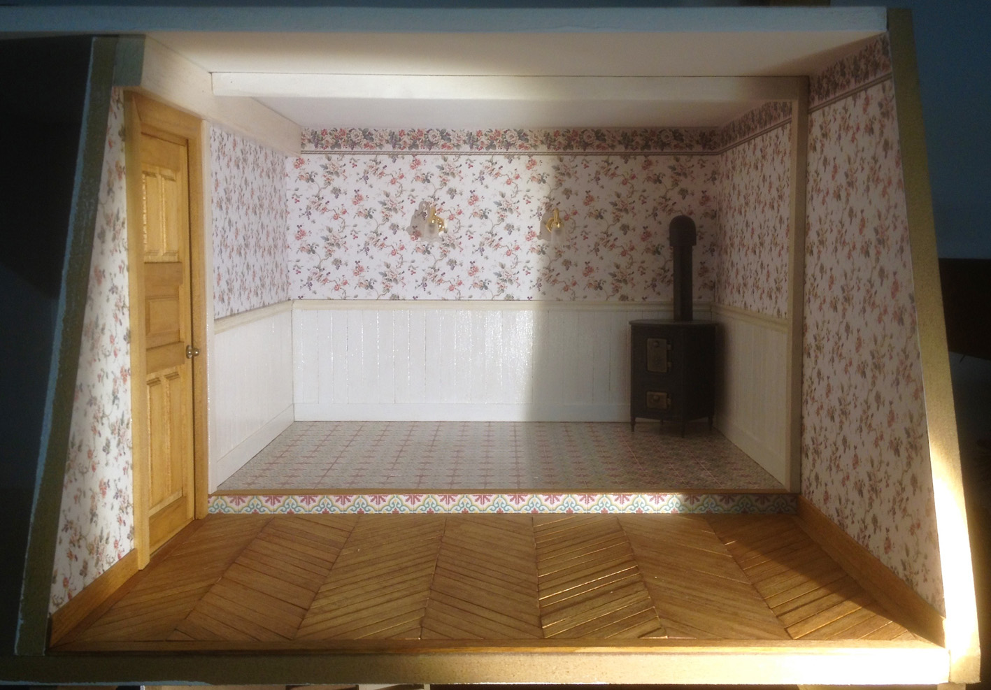 Salle de bain et lingerie miniatures passion - Lingerie salle de bain ...